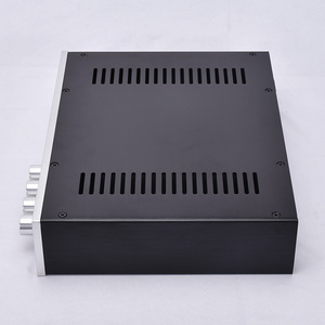 Image 3 - KYYSLB 320*70*248 مللي متر جميع هيكل من الألومنيوم 3207A الهيكل المنزل مضخم الصوت هيكل قذيفة DIY مربع مكبر للصوت الإسكان