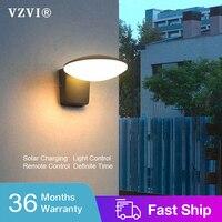 Moderne 3W 18W LED Solar Wand Licht Outdoor Wand Lampe Wandlampen Wasserdicht Veranda Garten Beleuchtung Leistungsstarke Hof Straße lampe Aluminium