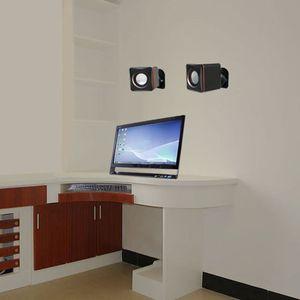 Image 5 - قوس تثبيت على الحائط لمكبر صوت الأقمار الصناعية ، مشبك مع دوران قابل للتعديل وزاوية إمالة لمكبرات صوت Sony