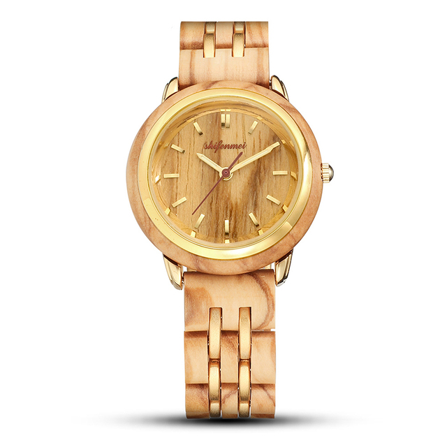 Couple Watches for Lovers Luxury Wood Watch Mens Fashion Wooden Women Dress Clocks Gifts for Valentine's Day Relogio de casal 2