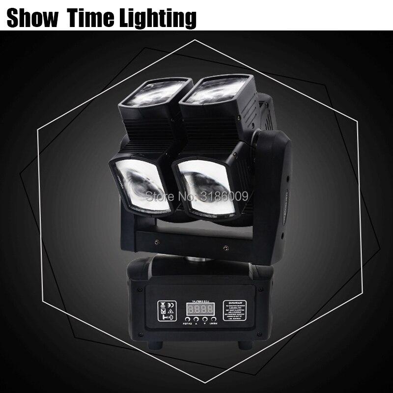 Illimitato Ruotare 8X10 W RGBW 4IN1 Dj Led Croce di Luce In Movimento Testa Buon Uso Per Il Partito KTV Bar mostra di home entertainment di danza - 2
