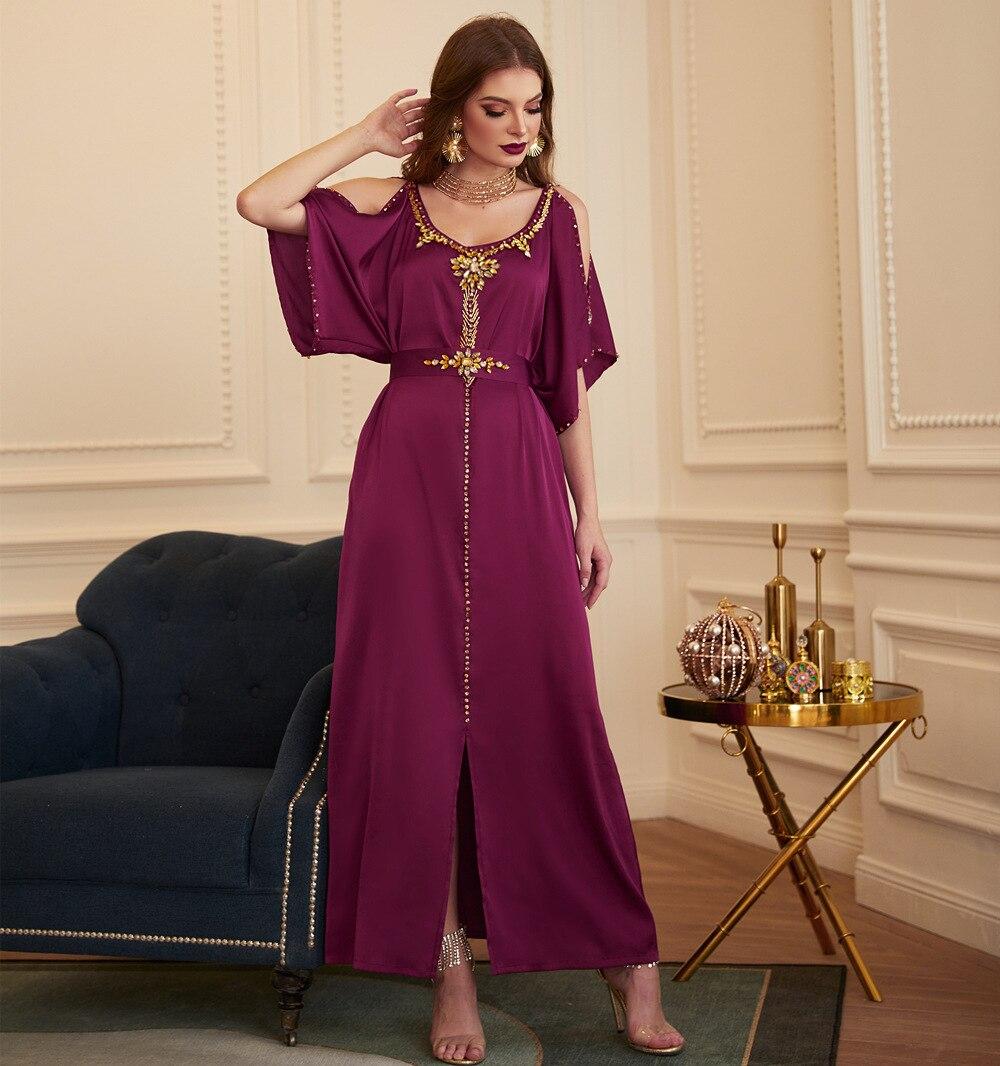Abaya Dubai Turkey Arabic Muslim Dress Islam Clothing Evening Party Dresses Abayas For Women Robe Femme Longue Musulman De Mode