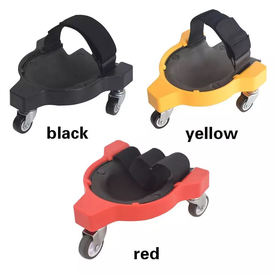 New Arrival Rolling Knee Protection Pad With Wheel Built In Foam Padded Laying Platform Universal Wheel Kneeling Pad