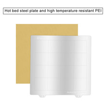 Hot Bed Steel Sheet Plate with High Temperature Resistant PEI Kit for MK3 3D Printer SP99(China)