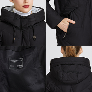 Image 5 - MIEGOFCE 2019 Women Winter Parka Femme Windpro Coat With Stand Up Collar and Hood That Will Protect From The Cold Womens Jacket