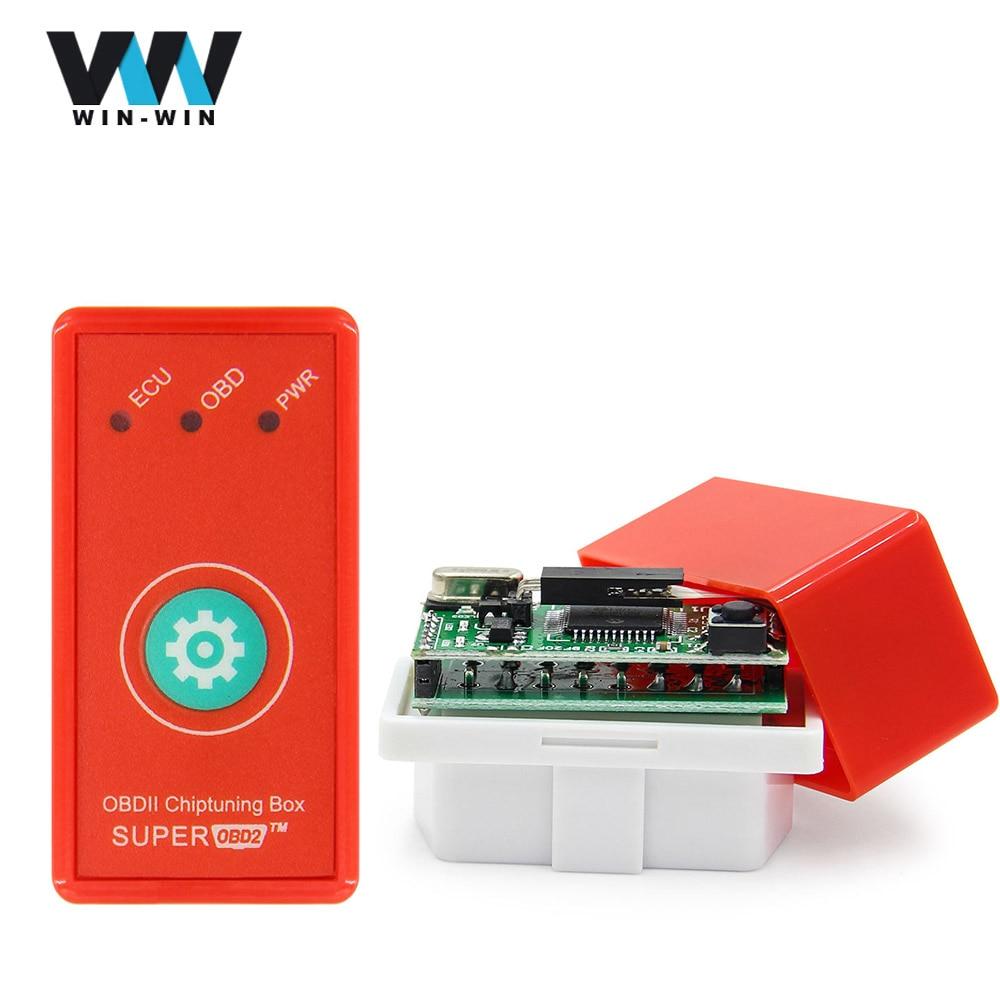 Car OBD2 Performance Chip Fuel Saver Tuning Box Interface Plug Diesel Drive CG