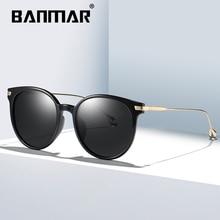 BANMAR New Polarized Sunglasses Women Brand Designer Female Sunglass Vintage Sun Glasses gafas oculos de sol masculino