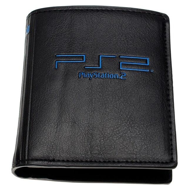 Мужские кошельки с монетницей в стиле Playstation