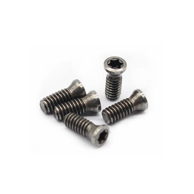 Plum Screw M2.2 M2.2X6 Lathe Turning Screw CNC Tool Screw CNC Cutter Bar Cutter Milling Machine System Machine Bolt