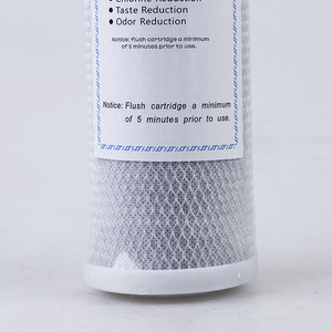 Image 5 - 2pcs Universal Water Filter Activated Carbon Cartridge Filter 10 Inch CTO Block Carbon Filter Water  purifier