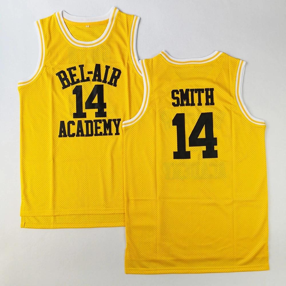 Will Smith Basketball Trikots #14 Carton Banks The Fresh Prince Bel Air Academy