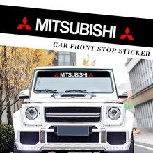 Auto Aufkleber Reflektierende Dekoration Decals Vorder Heckscheibe Aufkleber Aufkleber Für Mitsubishi ralliart Lancer 9 10 Asx Outlander