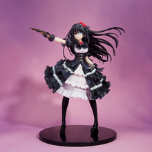 Anime Date A Live Tokisaki Kurumi Nightmare 30th Ver PVC Action Figure Collectible Model doll toy 25cm anime date a live tokisaki kurumi school uniform ver 1 8 scale pvc action figure collectible model toy doll 16cm