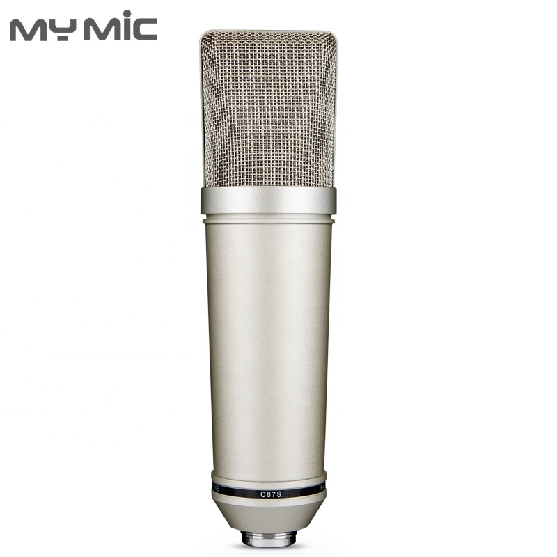 My Mic U87 Condenser Studio Large Diaphragm Microphone For Vocal Recording