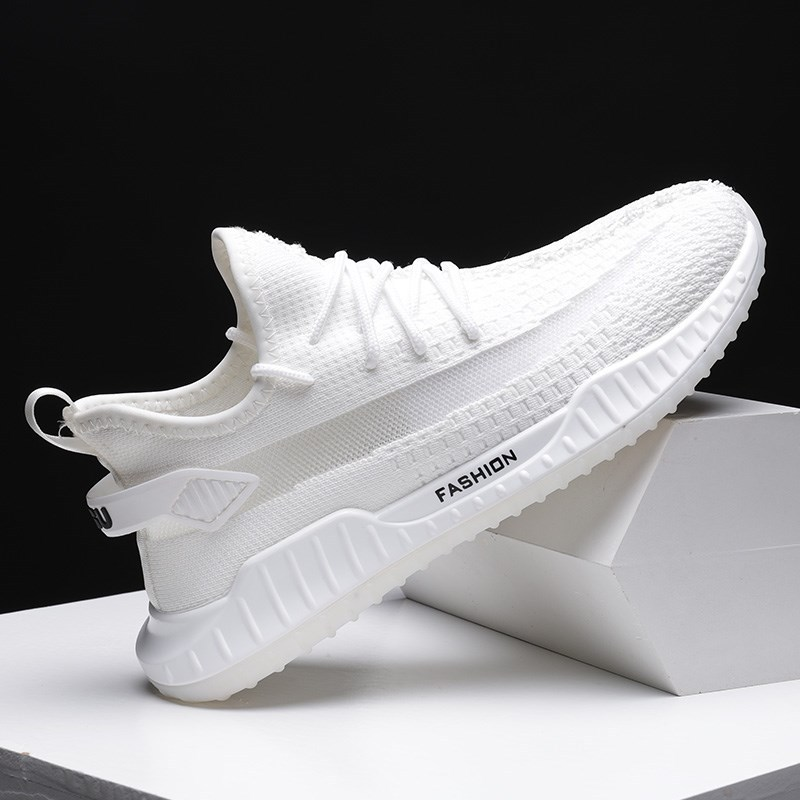 Men's Vulcanize Shoes Fashion Casual Trend Sneakers No-slip Male Air Mesh Breathable Lace Up Men Running Shoes