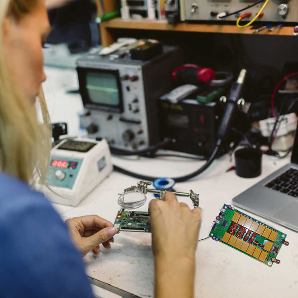 Автоматический антенный тюнер в комплекте 0,96 дюймов OLED антенный тюнер 100 Вт автоматический антенный тюнинговый инструмент автоматический антенный регулятор