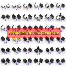 36 modelle, 36pcs, laptop Notebook netbook lade port power DC Jack stecker für acer asus HP dell Toshiba IBM lenovo Hasee