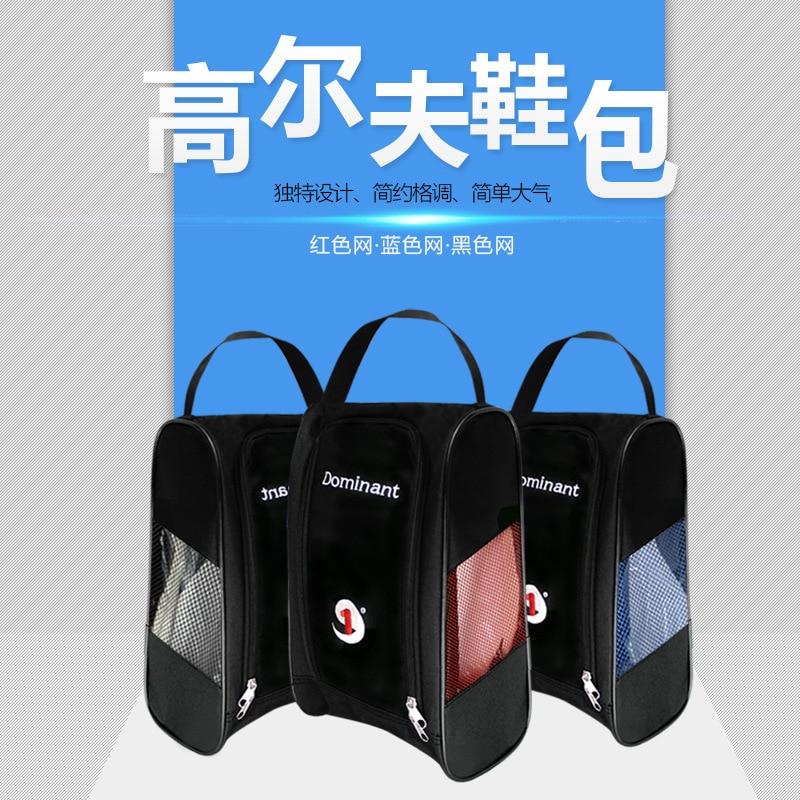 Genuine Product Dominant/Demetri Bag For Golf Shoes Shoe Bag Mesh Portable Shoe Bag 3-Color Screen
