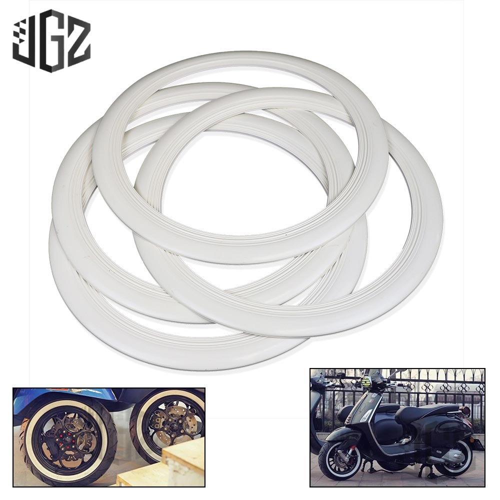 BLOUR Nueva Pegatina de Motocicleta 12 Uds Ajuste Adhesivo para Rueda de Motocicleta,///llanta/Reflectante de Rayas/para Yamaha YZF R1