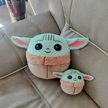 Star Wars Baby Yoda Kissenbezug Peluche Mandalorianer Plüsch Puppe Zeug Kissen Abdeckung Fall Modell Neue Jahr Spielzeug Plüsch Geschenk für kinder
