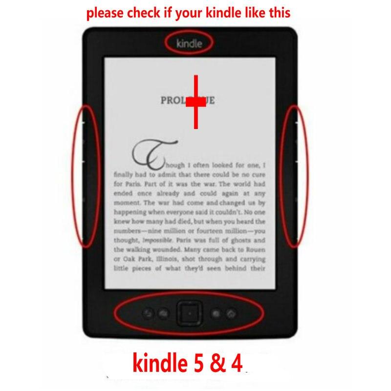 1 шт. кожаный чехол для Amazon Kindle 4/5 электронная книга читатель 6 дюймов (не подходит для kindle touch)-1