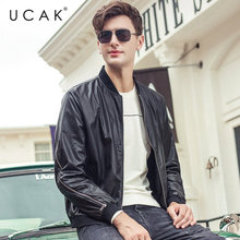 UCAK Brand Bomber Jacket Men Streetwear Fashion Zipper Coat Men Clothes 2019 New Autumn Winter Mnes Jackets And Coats Tops U8001