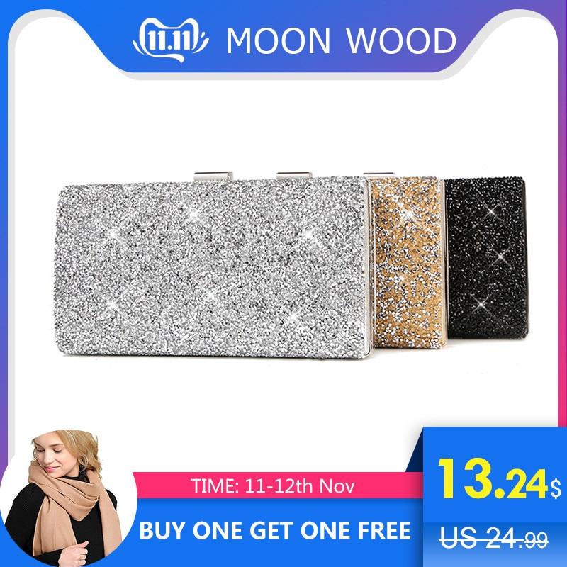 Female Clutch 2019 Luxury Handbags Diamond Evening Bag Bling Banquet Party Wedding Purses Clutch Wallet Gold Silver Black