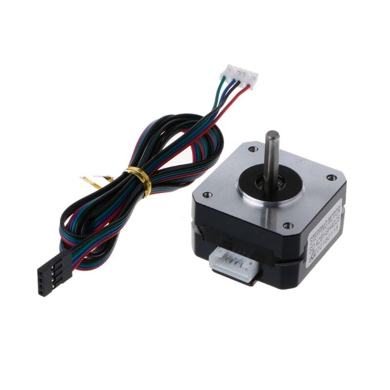 For Titan Extruder Stepper Motor 4-lead Nema 17 22mm 42 Motor For 3D Printer L29k