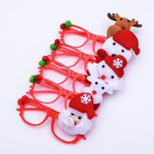 Novel Christmas Headband Light Up Hat Glasses Pen Brooch Accessories Decoration For Party Holiday Shipping