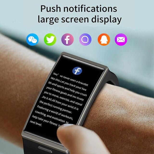 Smartwatch DM12 1.9 Inch 170*320 Screen LEMFO DM12 Smart Watch Men IP68 Waterproof Sport Heart Rate Blood Pressure Android IOS 1