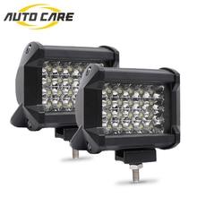 цена на New 240W LED Light Bar for Trucks Car Tractors Offroad SUV 4WD 4x4 Boat ATV Spot Combo LED Bar Work Light 12V