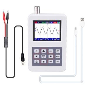 Image 1 - KKmoon Digital Oscilloscope Mini Portable Digital Oscilloscope 5M Bandwidth 20MSps Sampling Rate with P6100 Oscilloscope Probe