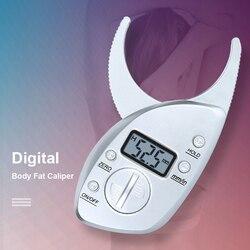 Body Fat Caliper Digital Fat Caliper 0-50mm Fat Clip Sebum Clip Body Fat Clamp Fat Forceps Skinfold Thickness Measurement