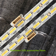 4Pieces/lot FOR 49inch LCD TV backlight bar CL 490 066 V1 L CL 490 066 V1 R  10024664 a0 66LEDS 533MM 100%NEW  left  and   right