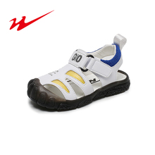 Double Star Children Sandals Boys Girls Sandals Baby Shoes Kids Shoes Kids Sandals Breathable Shoes For Boys Girs Baby Shoes cheap NoEnName_Null Rubber Nubuck Leather Flat Heels Hook Loop Microfiber Fits true to size take your normal size 0-1M 14T
