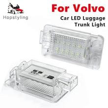 2PCS LEDช่องใส่สัมภาระTrunkสำหรับVolvo XC70 XC90 C30 C70 V50 V70 S80 S60 S60L S80L s40