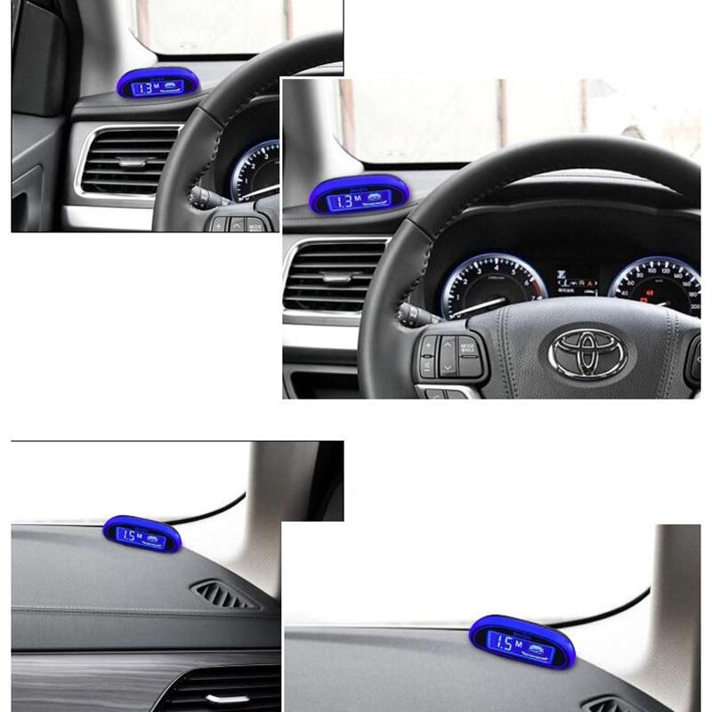 Auto Zubehör Parktronic Parkplatz Sensor Sensor De Estacionamento Parken-sensor Umge 4 Sensoren Led-anzeige Radar-Monitor