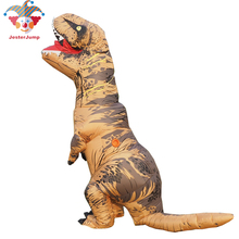 t rex Halloween Costume Purim Cosplay Party Inflatable t rex Dinosaur Costume Jurassic World Adult Costume cosplay halloween party game adult children inflatable suit tyrannosaurus rex dinosaur inflatable clothes show props
