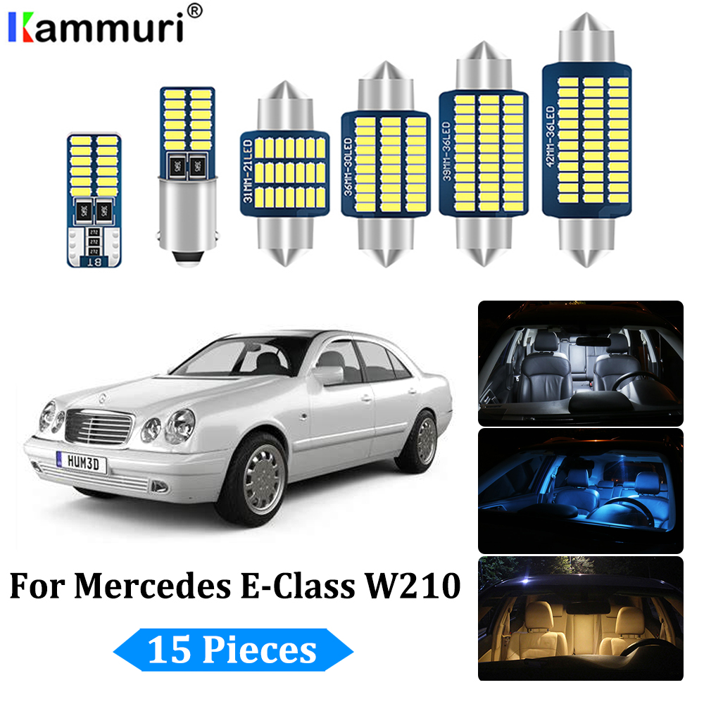 INTERIOR LED SMD Bulbs KIT BLUE CAN BUS fit Vauxhall Zafira C