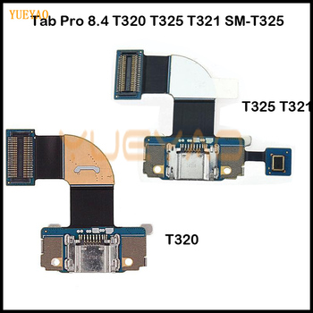 T320 Charging Flex For Samsung Galaxy Tab Pro 8.4 SM T321 T325 Dock jack socket Connector Charger USB Charging Port Flex Cable image