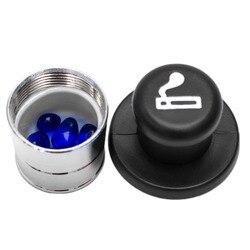 1 шт., безопасный автомобильный чехол-зажигалка для хранения таблеток