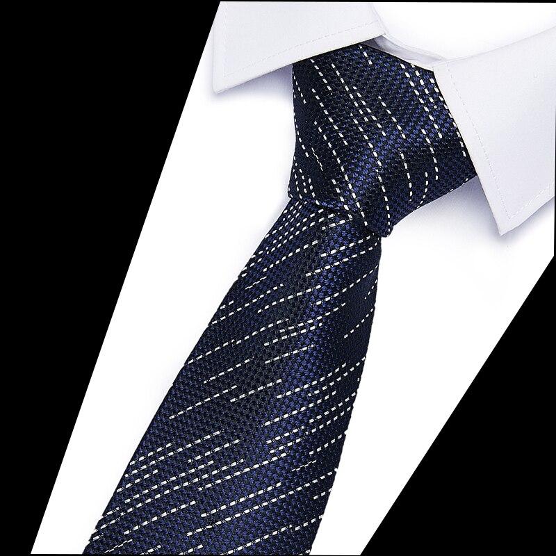 Luxury Man Floral Dot Neckties 6 Cm Slim TieNew Skinny Mens Ties Classic Business Casual Tie For Men 100% Silk Gift Tie 12505