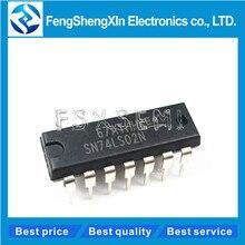 10 unids/lote HD74LS02P DIP 14 HD74LS02 74LS02 SN74LS02N Quad 2 entrada ni CI de puerta