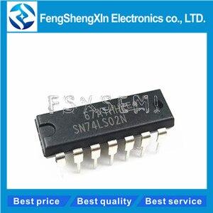 Image 1 - 10pcs/lot HD74LS02P DIP 14 HD74LS02 74LS02 SN74LS02N Quad 2 input NOR Gate IC