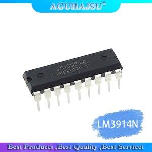 2pcs LM3914N-1 LM3914N LM3914 DIP-18 LED Dot/Bar Display Dvr Lighting Drivers new original