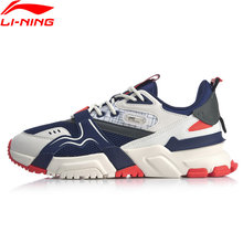 Li-ning – baskets de Sport et de loisirs pour hommes, chaussures de mode rétro, doublure Support, confortables, AGCQ005, 001