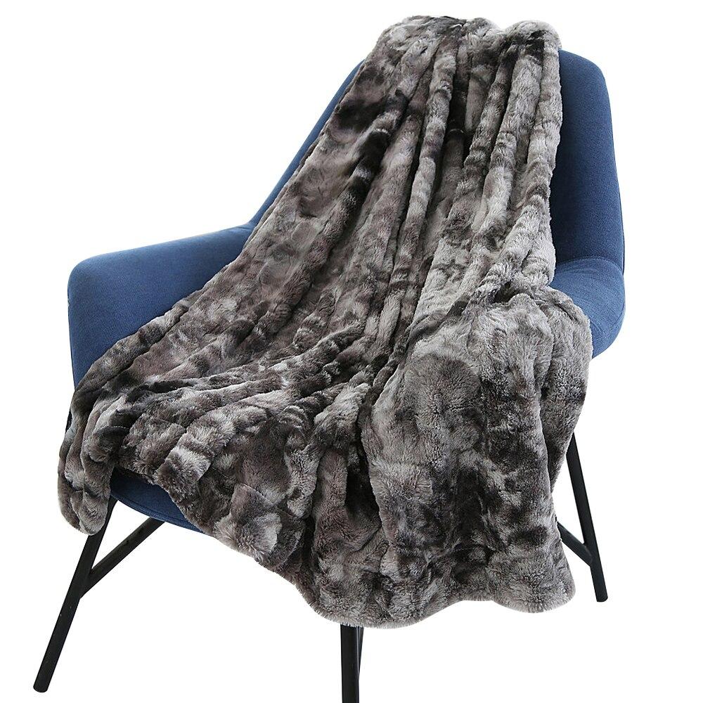 Одеяло из искусственного меха супер мягкий пушистый легкий вес роскошный уютный теплый Пушистый Плюшевый гипоаллергенный Плед покрывало на кровать диван