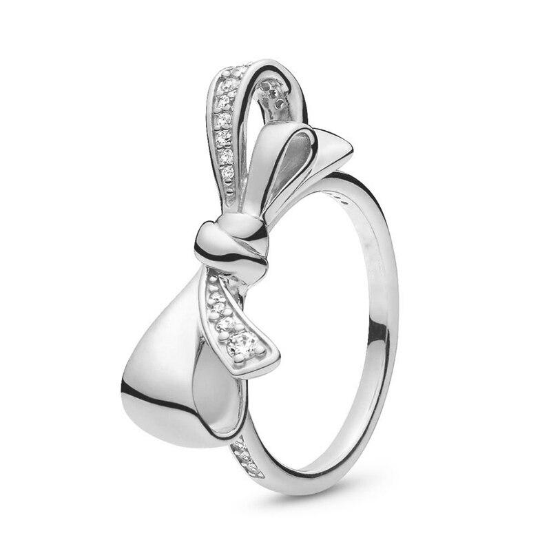 Кольцо на палец в форме сердечко серебряного цвета для женщин, европейская оригинальная Корона, изящные кольца на палец, свадебные украшения, 50 стилей, Прямая поставка - Цвет основного камня: Rings 024