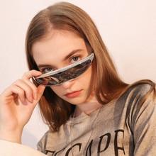 2020 New Futuristic Women  Sunglasses Men Festival Funny Sun glass Around Mask Novelty Fashion Glasses gafas de sol mujer