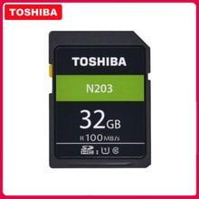 Original TOSHIBA High Speed Speicher SD N203 32G 64G 128G U1 SD Karte Unterstützung Full HD Schießen für Canon Nikon Digital SLR Kamera